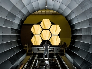 How does NASA transport a $9 billion telescope?