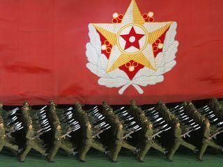 N. Korea conducts huge artillery drill
