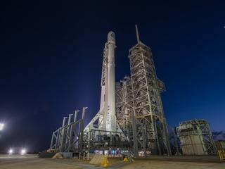 SpaceX launches top-secret spy satellite