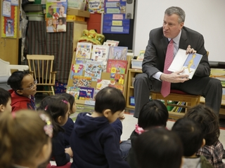 NYC will offer free preschool for 3-year-olds