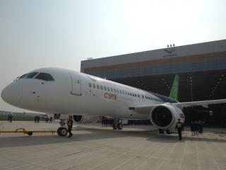 Chinese passenger jet C919 set for maiden flight