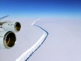 Larsen ice shelf could disintegrate again