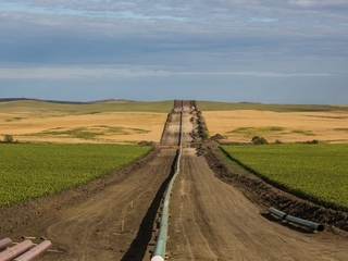 Dakota Access pipeline already sprung a leak
