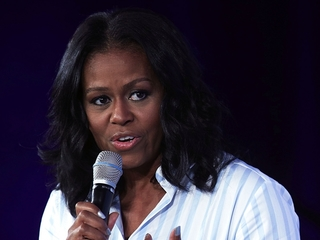 Michelle Obama comments on school lunch changes