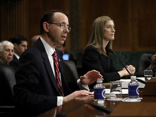 Dep. AG says he discussed Comey firing last year