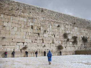 Trump visits the Western Wall in Jerusalem