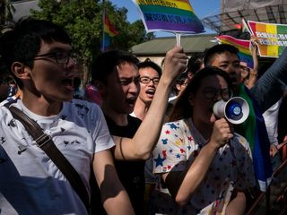 Taiwanese court rules in favor of gay marriage