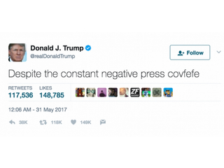 Climate change, 'covfefe' top moments