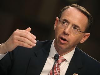 Rod Rosenstein says no cause to fire Mueller