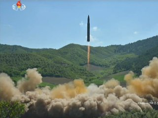 N. Korea says it launched an ICBM