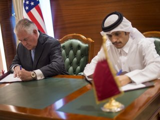 Qatar agrees to combat terrorism funding with US