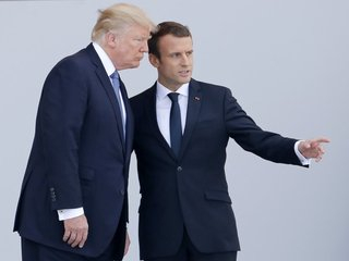Macron hopeful Trump will rejoin Paris accord