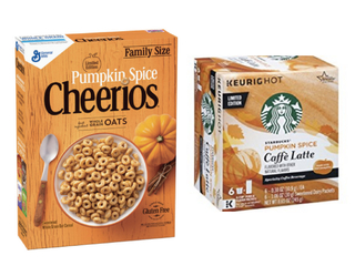 Pumpkin spice items already back on shelves