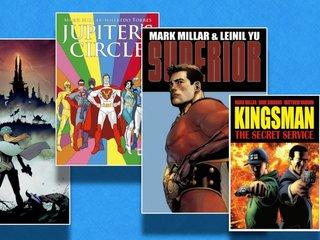 Netflix buys comic publisher Millarworld