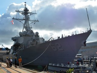 Navy announces punishments over USS Fitzgerald