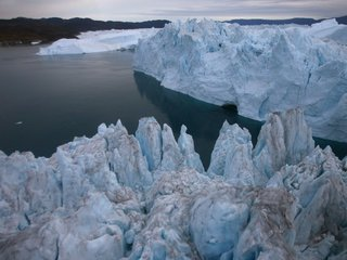'Unusual' fire burns over ice-covered Greenland