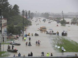 Health hazards from Harvey's floodwater