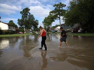 Tropical Storm Harvey moves into Lousiana