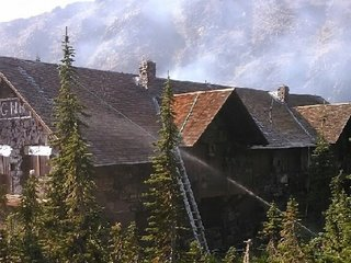 Wildfires burn down Montana's Sperry Chalet