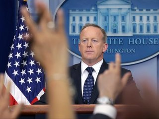 Sean Spicer takes on role as paid speaker