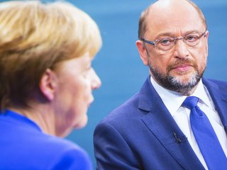 Merkel faces Martin Schulz for chancellery