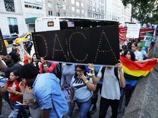 Former HS secretary sues Trump over DACA