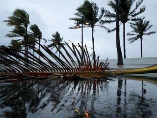 Hurricane Irma weakens to a tropical storm