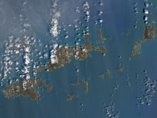 Satellite images show Caribbean after Irma