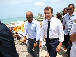 Macron pledges 50M euros to Caribbean after Irma
