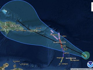 Another major storm could hit the Caribbean
