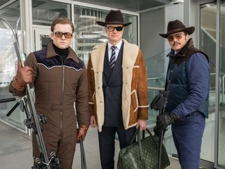 'Kingsman' sequel takes No. 1 box-office spot