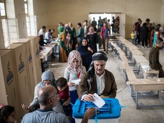 Kurds hold vote on starting secession process