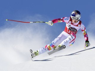 Lindsey Vonn might get to race against men