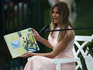 Librarian rejects books Melania Trump donated