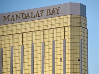 Police find guns in Vegas shooter's hotel, home