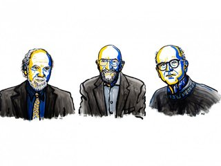 US physicists win Nobel Prize