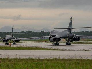 US Air Force flies bombers near Korean Peninsula