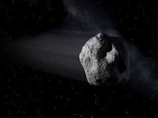 NASA sees asteroid flyby as test