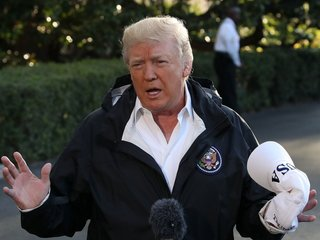 Trump seems to shift tone on Puerto Rico