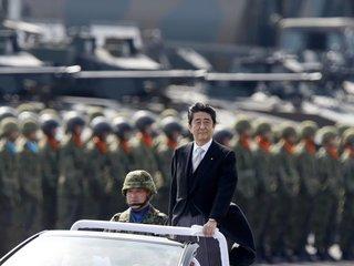 Japan's exit polls look good for Shinzo Abe