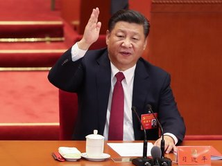 Xi enshrined in Communist Party Constitution