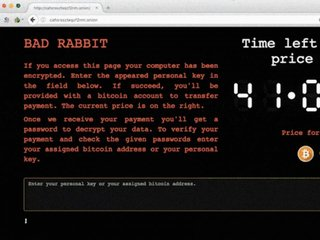 'Bad Rabbit' ransomware hits Eastern Europe
