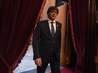 Catalan's Puigdemont doesn't appear in court