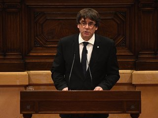 Spain issues warrant for Catalan ex-leader