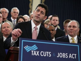 House approves massive GOP tax overhaul bill