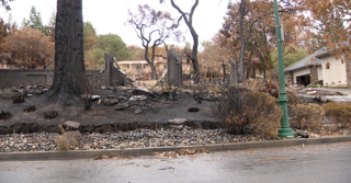 Wildfire zone preps for possible new disaster