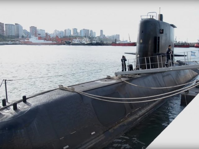 Argentine submarine missing with 44 crew members on board