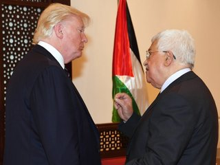 Palestinians freeze talks with US over DC office