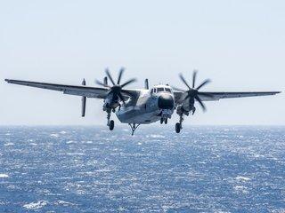 US Navy aircraft crashes into ocean
