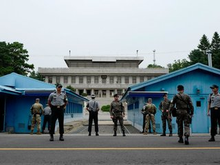 Korean DMZ keeps two massive militaries apart